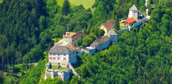 Burg Strechau in der Nähe von Schloss Pichlarn