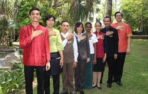 A group picture of employees at The Saujana Hotel Kuala Lumpur