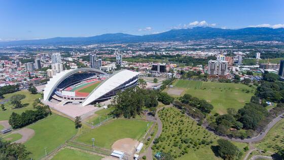 The National Stadium near Best Western Plus San Jose