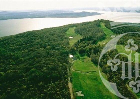 Golf near Castello dal Pozzo in Oleggio Castello, Italy
