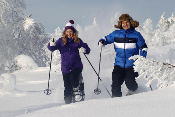 Snow sports near Northern Lights Village Levi in Sirkka, Finland