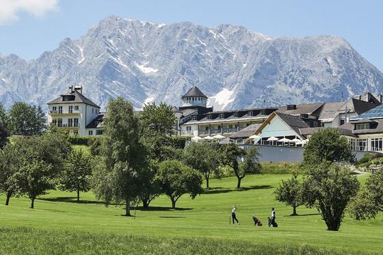 Golfen im Schloss Pichlarn