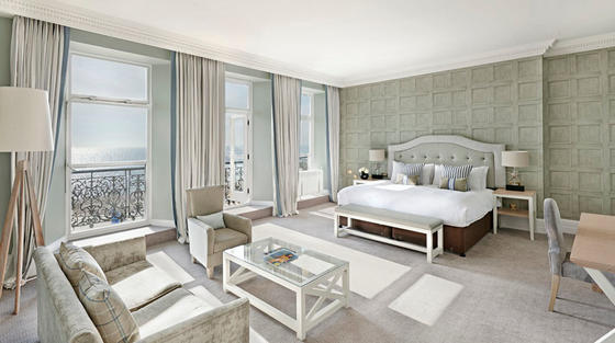 Bedroom at The Grand Brighton