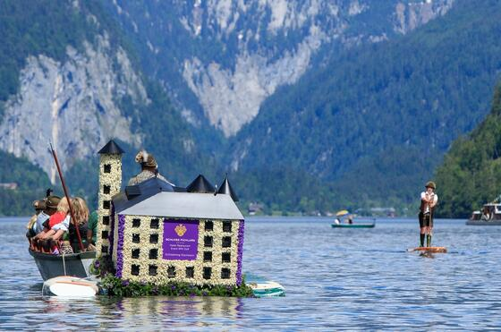 Narzissenfigur Schloss Pichlarn