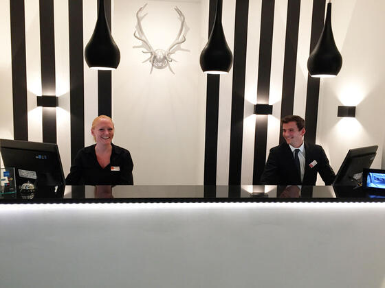 Reception at Hotel Alt Deutz City-Messe-Arena