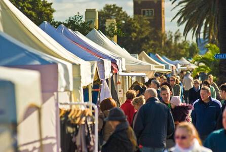 St Kilda Market in Melbourne