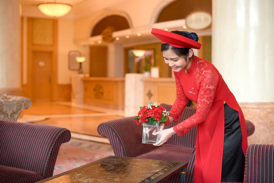 Cleaning at Hanoi Daewoo Hotel