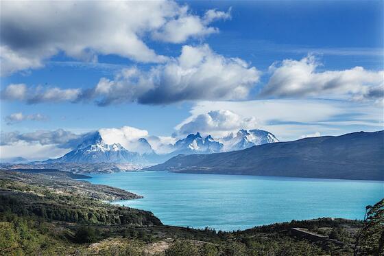 Landscape view of Dorotea Hill near NOI Indigo Patagonia
