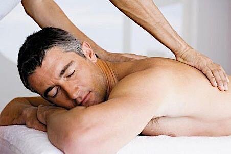 Gentleman receiving MVP massage.