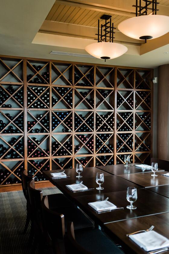 Wine Room at Alderbrook Resort & Spa