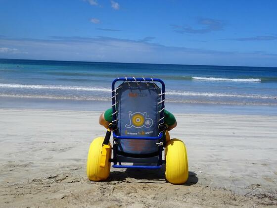 Wheelchair for the Beach