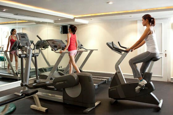 Fitness at Hotel Gran Mahakam in Jakarta, Indonesia