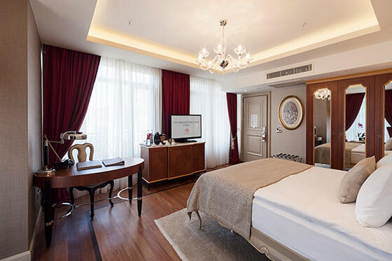 Accommodation at CVK Hotels & Resorts in Istanbul