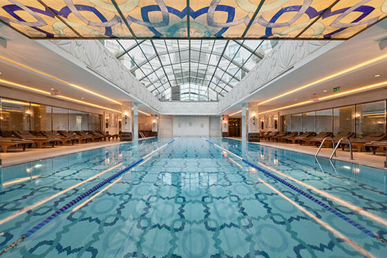 Pool at CVK Hotels & Resorts in Istanbul