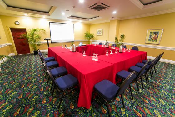 u-shaped conference room