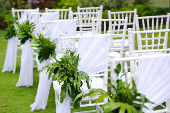 wedding décor outdoor