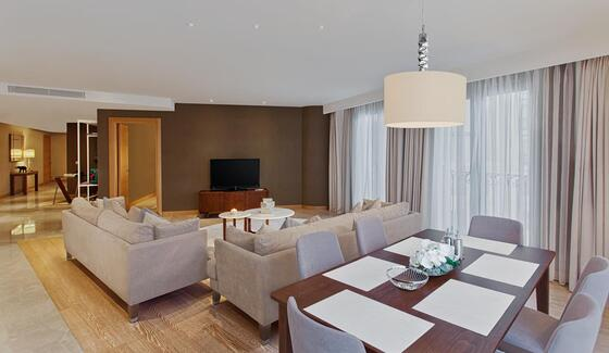 Four-Bedroom Suite at CVK Park Prestige Suites in Istanbul