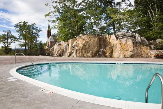 Pool at The Abbey Inn & Spa in Peekskill, New York