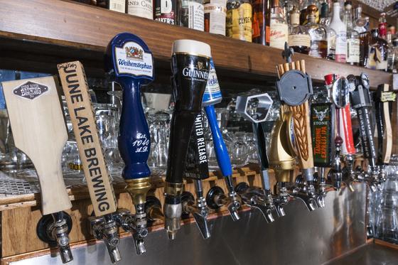 branded beer tap handles