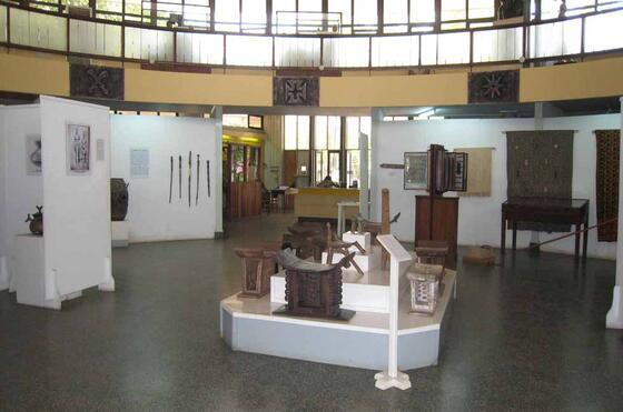 National Museum of Ghana near Kwarleyz Residence in Accra