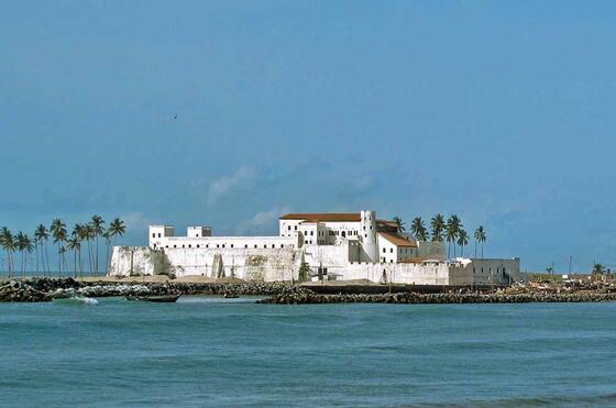 Osu Castle near Kwarleyz Residence in Accra