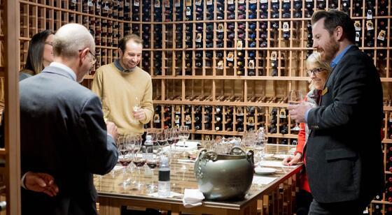 Stein Eriksen Lodge Wine Cellar