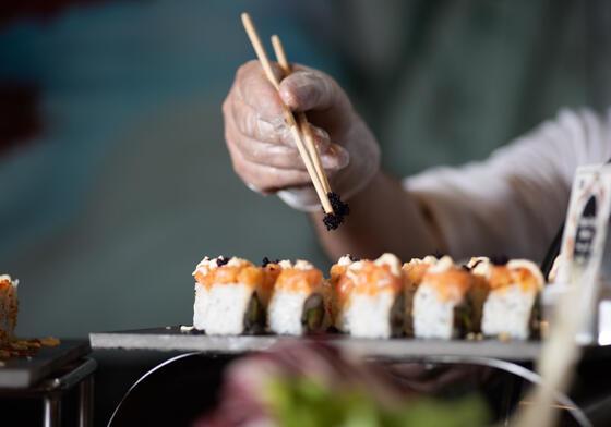 Sushi Fusion Restaurant Dubai