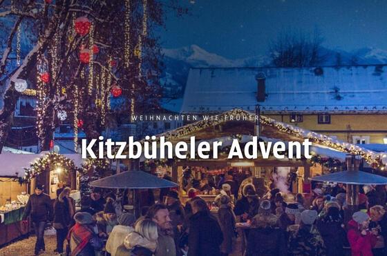 Advent at Gasthof Eggerwirt Hotel in Kitzbühel, Austria