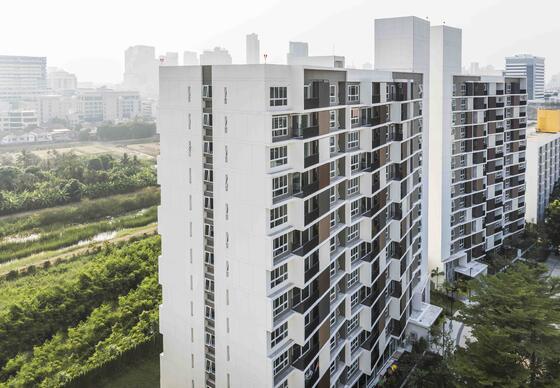 Maitria Residence Rama 9 Façade