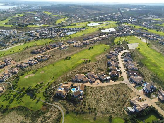 Golf Courses upper view in Club Mykonos