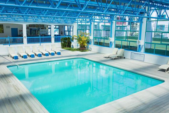 Indoor Pool in Club Mykonos