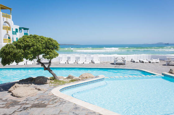 Outdoor Pool in Club Mykonos