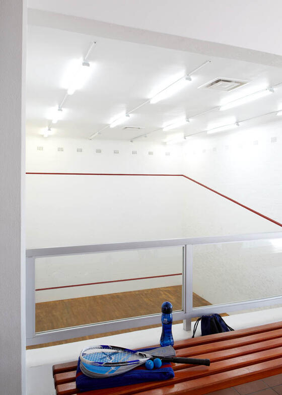 Squash Courts in Club Mykonos