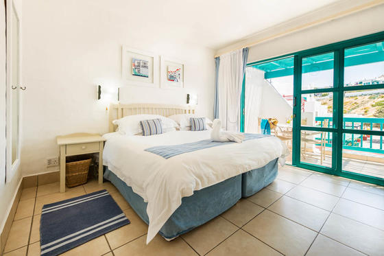 Bedroom With Double Bed Club Mykonos Agora Square 1 Bedroom