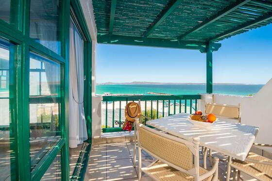 Marina 2 Bedroom Apartment Patio in Club Mykonos
