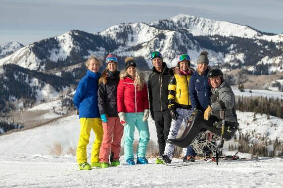 Deer Valley Ski With A Champion Program