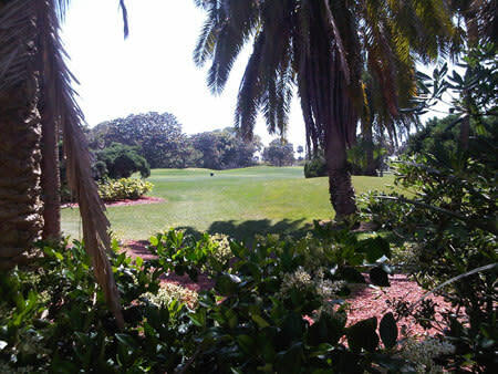Daytona Beach golf course.