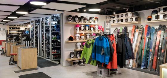 Stein Eriksen Sport Shop winter ski rentals