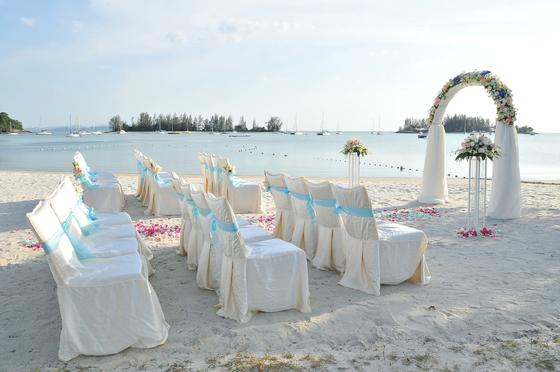 Beach wedding at The Danna Langkawi