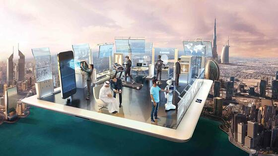 The Virtual Experience at Expo 2020 -  Two Season Hotel & Apartm
