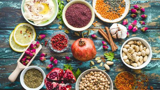 Spices, Dips, Fruits & Nuts -  Two Season Hotel & Apartments in