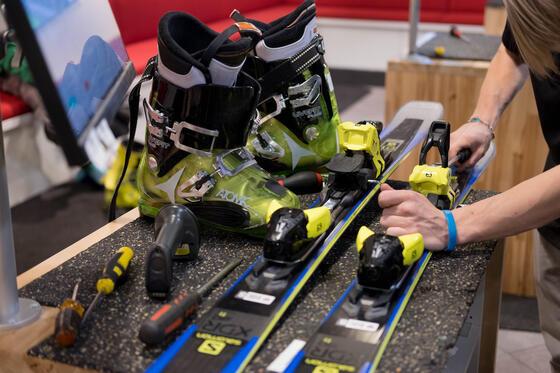 Stein Eriksen Sport Shop Ski Tune Up