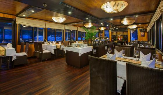 Syrena Cruises - Best Halong Bay Cruises - Lotus Restaurant