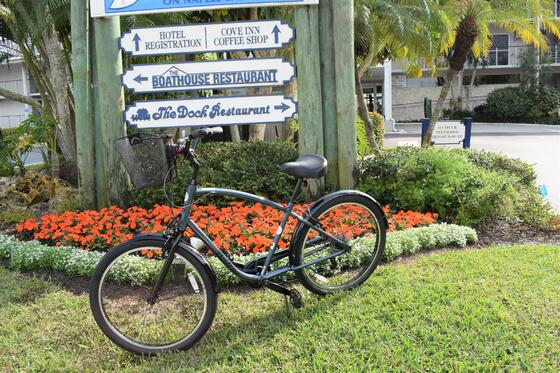 Bicycle at The Cove Inn