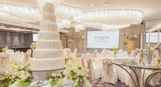 Chatrium Hotels & Residences Wedding Venue