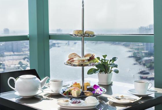 Chatrium Hotels & Residences Chatrium Club Lounge High Tea