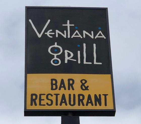 ventana grill bar and restaurant logo