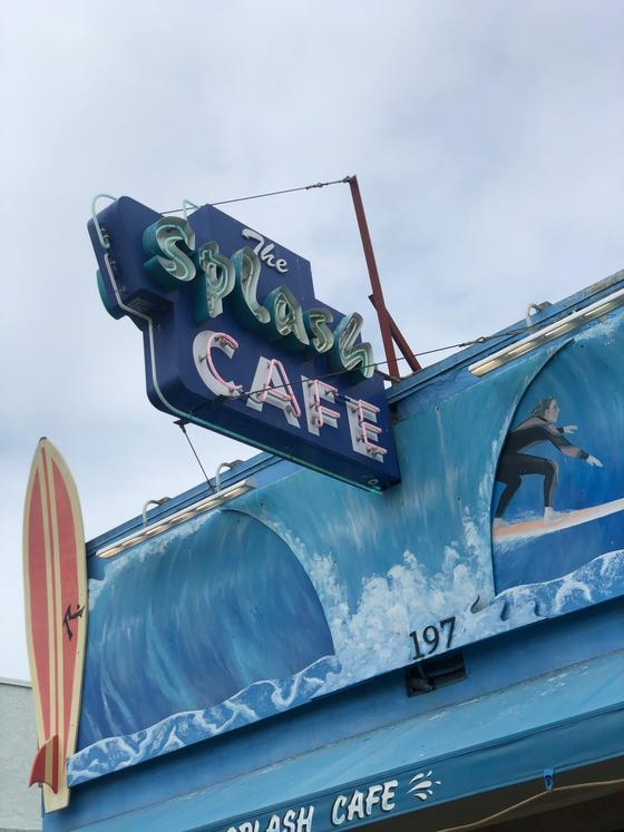 the splash café logo