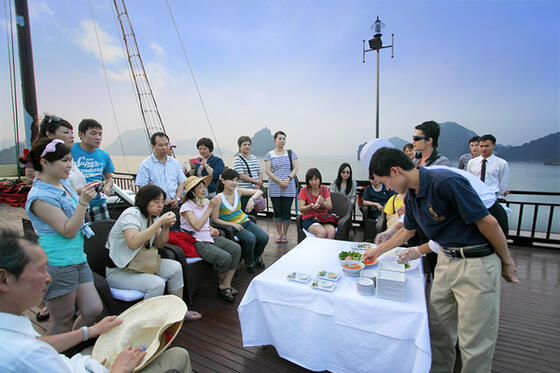 Syrena Cruises Activities - Cooking Class