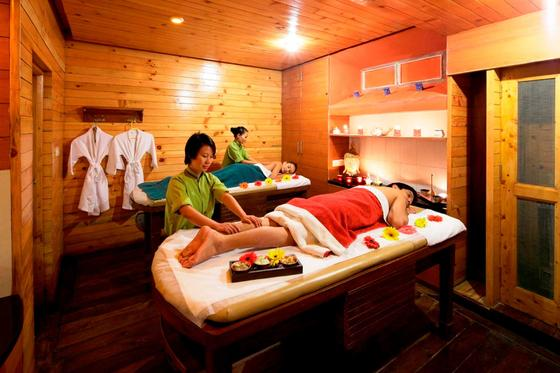 Spa at ManuAllaya Resort Spa Manali in Himachal Pradesh, India